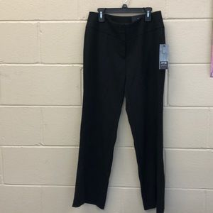 Curvy black trousers mid rise size 4P by Apt. 9